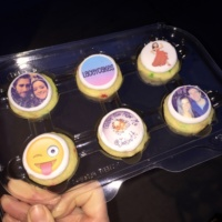 Customized cupcakes by Laceycakes