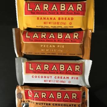 Gluten-free bars by Lara Bar