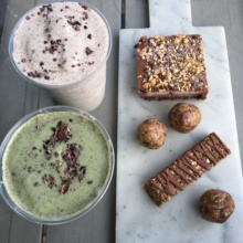 Gluten-free smoothies and desserts from Lifehouse Tonics