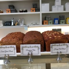 Gluten-free loaves of bread from Lilac Patisserie