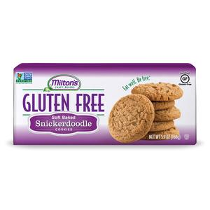 Gluten-free cookies by Milton's