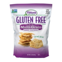 Gluten-free baked crackers by Milton's