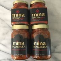 Gluten-free shakshuka and harissa from Mina