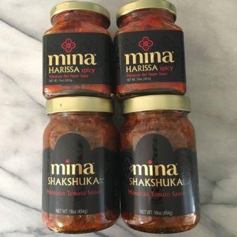 Gluten-free shakshuka and harissa from Mina