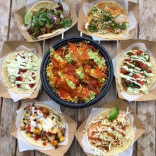 Gluten-free tacos and bowls from Mondo Taco