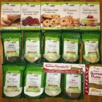 Gluten-free flours, mixes, and cookies from NOW Foods