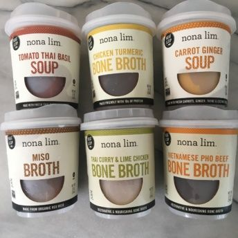 Gluten free broths from Nona Lim