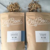 2 types of gluten-free granola from Oatbox