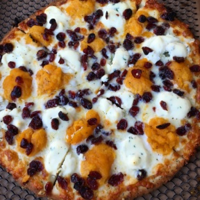 Gluten-free Thanksgiving pizza from Otto Pizza