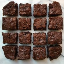 Paleo Flourless Zucchini Chocolate Brownies