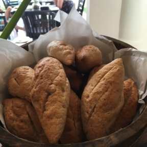 Gluten-free bread from Palm Grove at Centara Grand