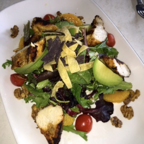 Gluten-free salad from Peacock Cafe