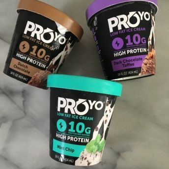 Gluten-free high protein ice cream from ProYo