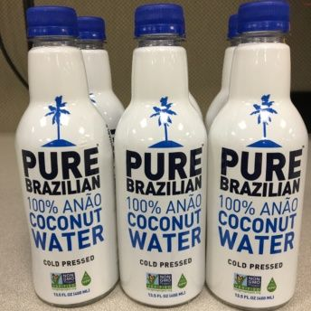 Coconut water by Pure Brazilian Raw Coconut Water
