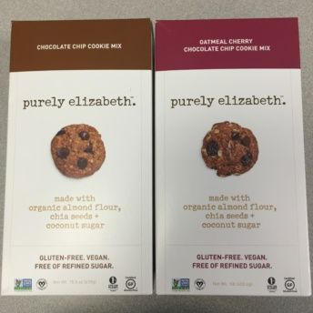 Gluten-free cookie mixes from Purely Elizabeth