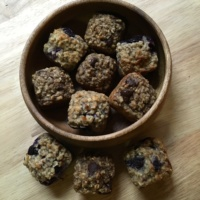 Gluten-free muffins by Q2 Healthy Squares