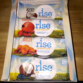 Gluten-free energy bars from Rise Bar