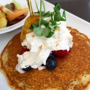 Gluten-free pancake from Root Down