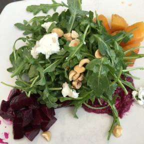 Gluten-free beet salad from Root Down
