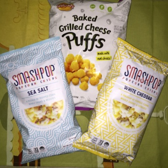 Gluten-free popcorn and puffs from Snikiddy