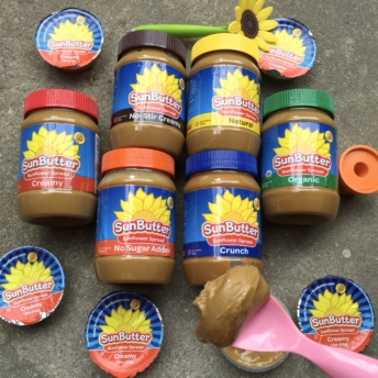 Gluten-free sunflower spread from SunButter