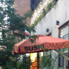 Sushi Samba in West Village NYC
