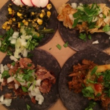Gluten-free tacos from Taquiza