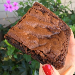 Gluten-free brownie from The Good Cookies