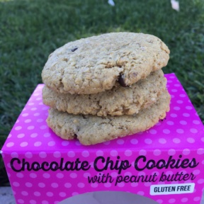 Gluten-free chocolate chip cookies from The Good Cookies