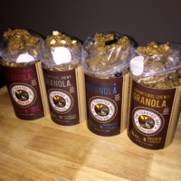 4 types of gluten-free granola from The Toasted Oat