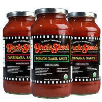 Tomato sauce by Uncle Steve's Italian Specialties