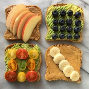 Gluten-free Vegan Toast Four Ways