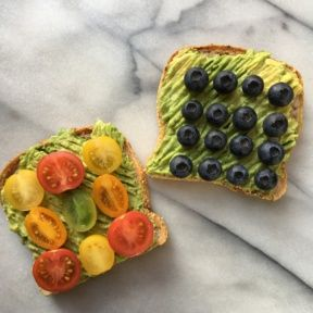 Gluten-free Vegan Toast Two Ways