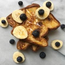 Gluten-free Vegan Cinnamon & Raisin French Toast