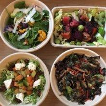 Gluten-free salad spread from Verde