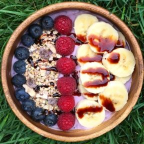 Gluten-free Yogurt Bowl with Date Syrup