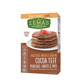 Gluten free and vegan pancake waffle mix by Zema's