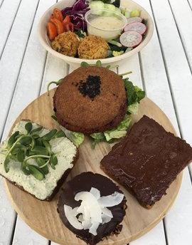 Gluten-free dinner at Seed & Salt