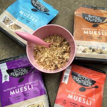 Gluten-free muesli from Seven Sundays