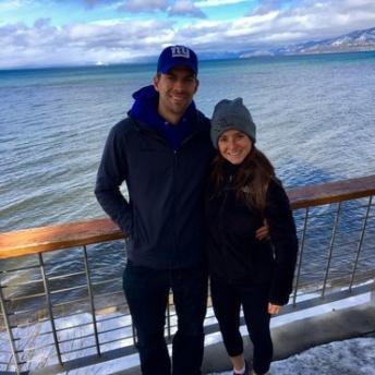 Jackie and Brendan at Lake Tahoe
