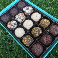 Gluten-free chocolate box from tinyB chocolate