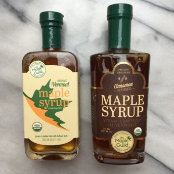 Gluten-free organic maple syrups from The Maple Guild