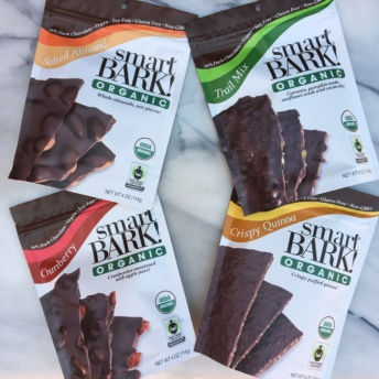 Gluten-free chocolate bark from smartBARK! Organic