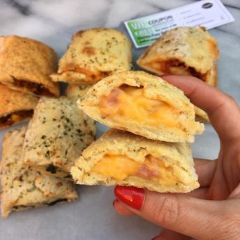 Gluten-free cheesy stuffed sandwiches by Gluten Free Delights