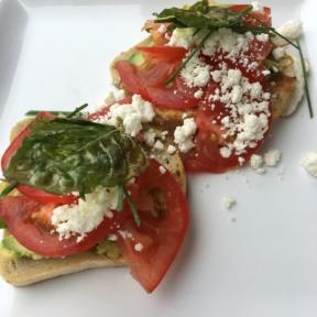 Gluten-free avocado toast from GOODONYA