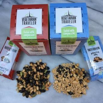 Gluten-free toasted bean blends by Vegetarian Traveler