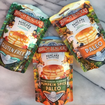Gluten-free paleo pancake mixes by Birch Benders