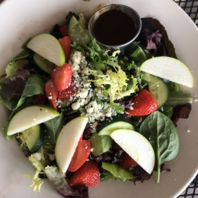 Gluten-free berry salad from Kozy Kitchen