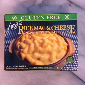 Gluten-free rice mac & cheese by Amy's Kitchen