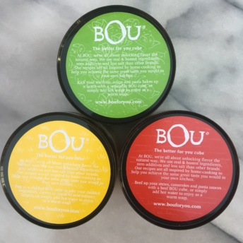 Chicken, beef, and vegetable bouillon cubes by BOU
